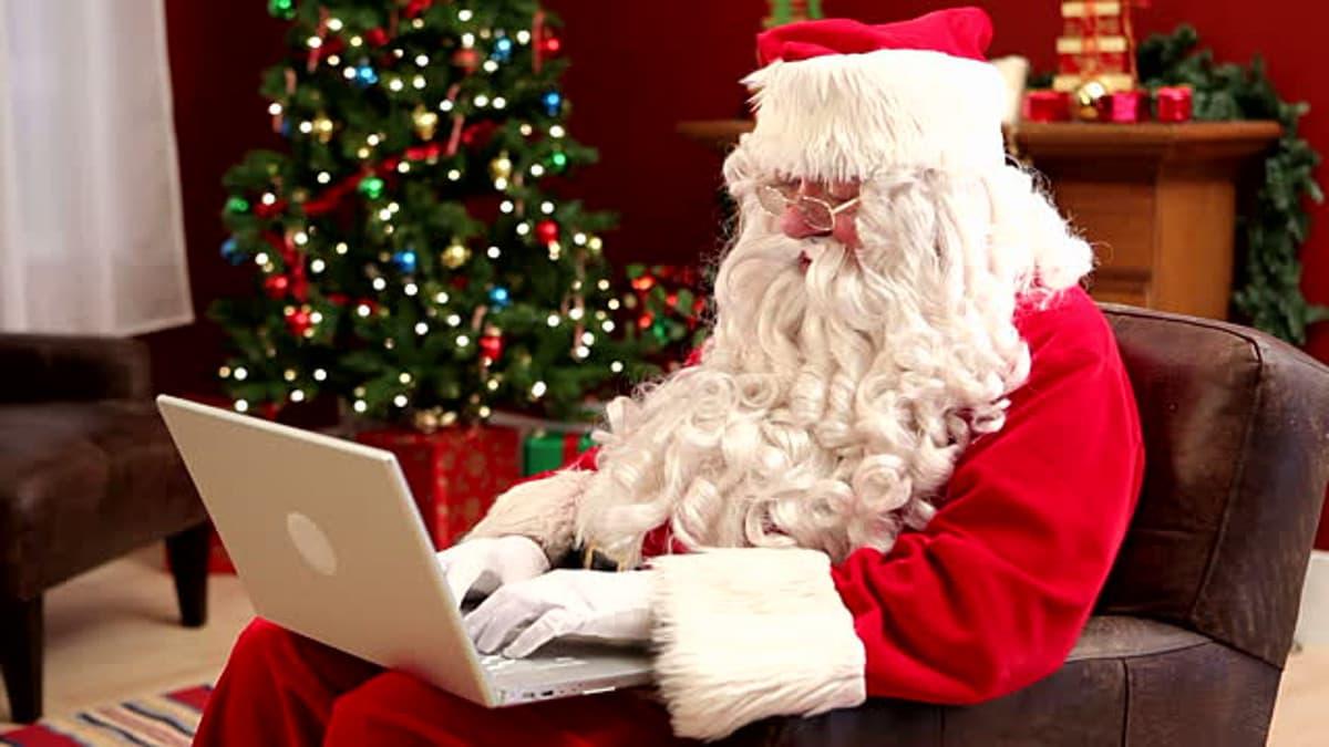 Babbo Natale online video chiamata diretta via web streaming consegna regali doni bambini festa natalizia elfi 2020