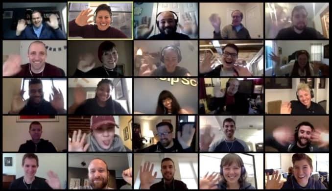 Festa online Compleanni online adulti Feste video chat da casa meeting party riunioni amici a distanza