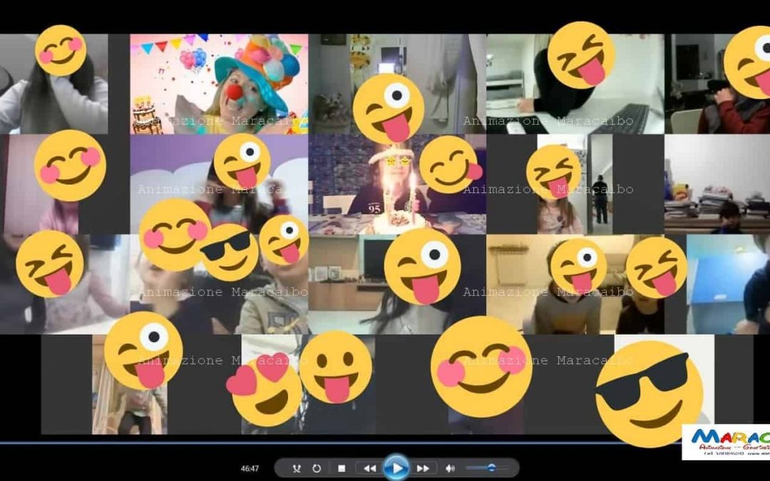 Carnevale online dei bambini e adolescenti festa virtuale in streaming